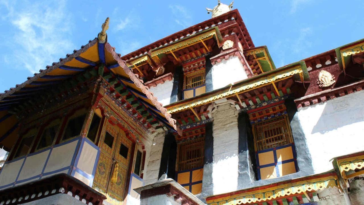Parc joyaux Norbulingka Tibet, voyage initiatique Oasis