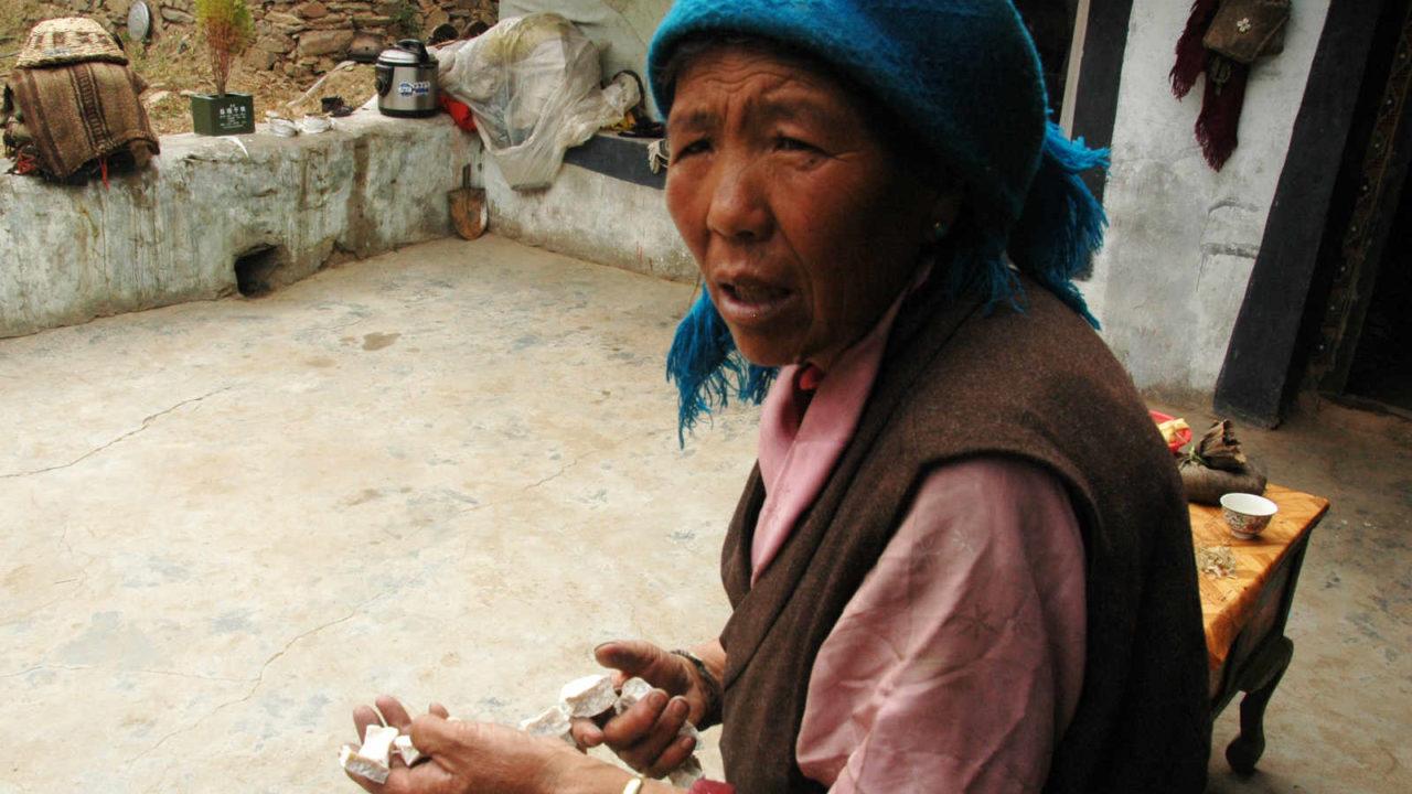 Rencontre villageois Tibet, voyage initiatique Oasis